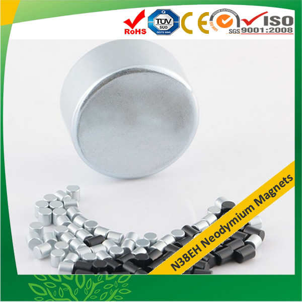 N38EH REFeB Strong Disc Neodymium Magnets
