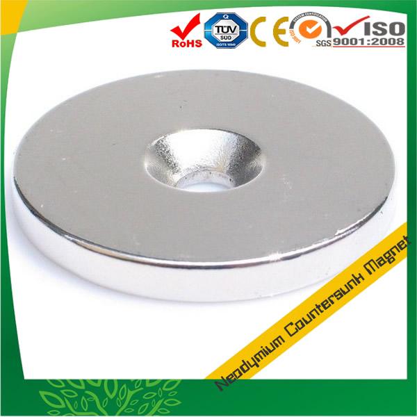 Neodymium Countersunk Disk Magnet