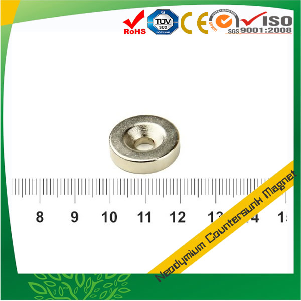Neodymium Magnet with 90 °Countersunk