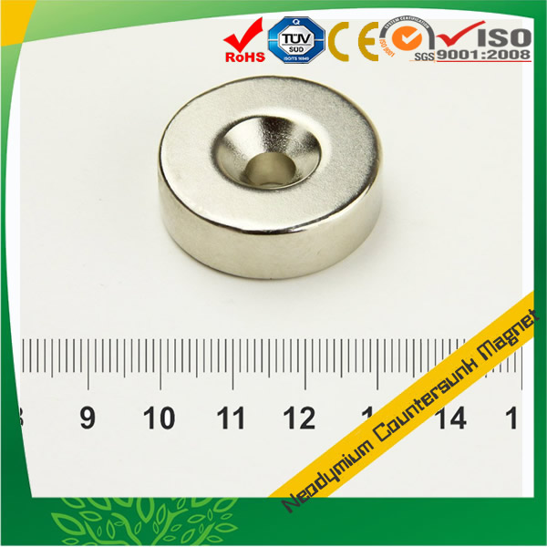 Rare Earth Disc Countersunk Magnet