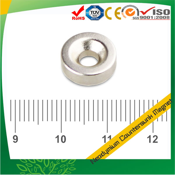 Round Countersunk Permanent Magnet