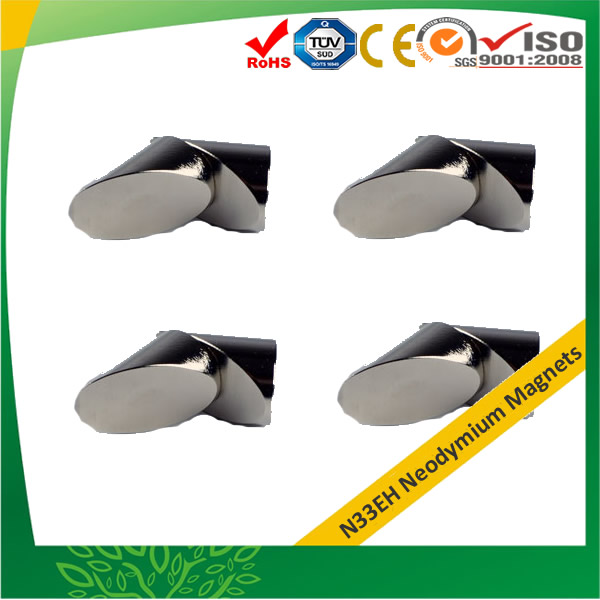 Sintered Mitre Magnets N33EH(T)