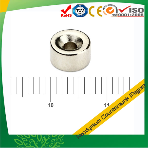 Small Countersunk Disc NdFeB Magnet