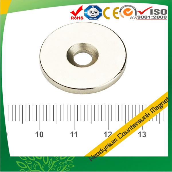 Strong Neodymium Round Countersink Magnet