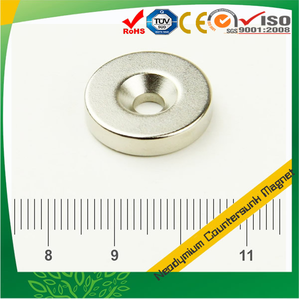 Super Strong Countersunk Magnet