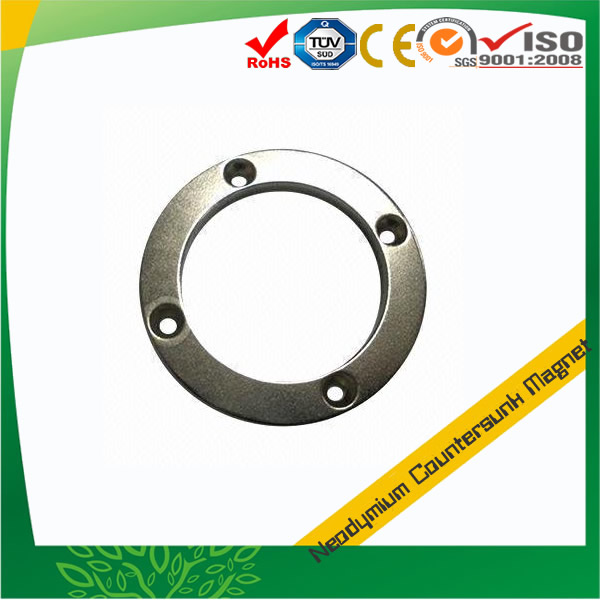 Ring Countersunk NdFeB Magnet