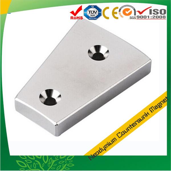 Segment Countersink Magnet Neodymium