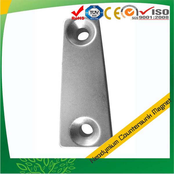 Segment NdFeB Countersink Hole Magnet