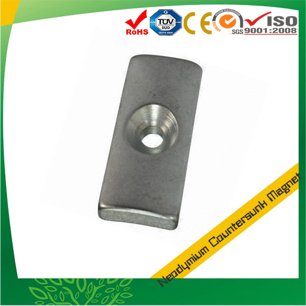 Strong Countersunk Segment Magnet