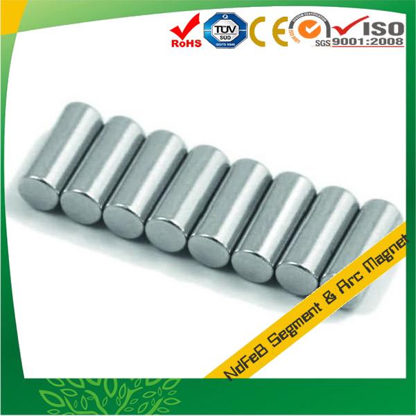 Zinc Plating Rod N50 NdFeB Magnet