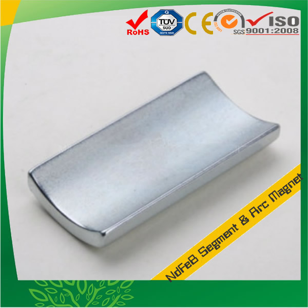 Zn Plated Sintered N50 Neodymium Magnet