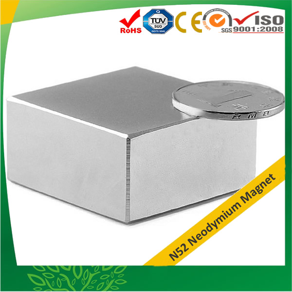 Block Super Strong Rare Earth Neodymium Magnet N52