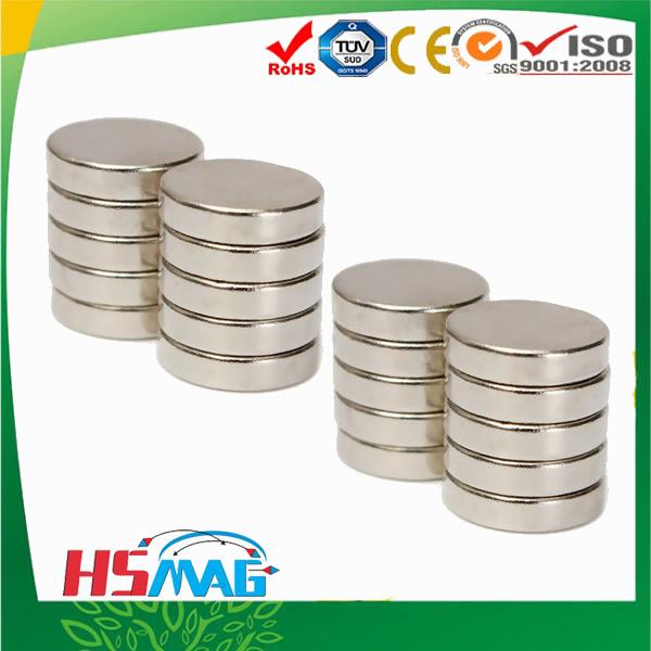 N52 NdFeB Disc Magnet