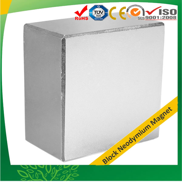 N52 NdFeB Magnet Block 37X37X15mm