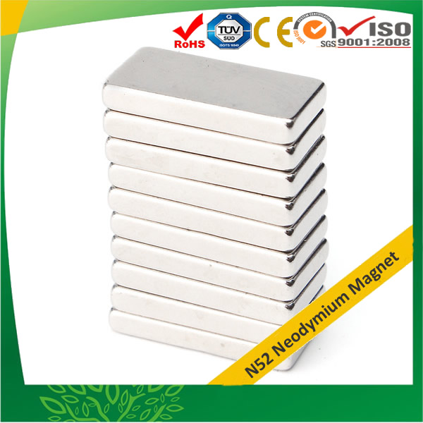 N52 Rectangular Magnet 20mmx10mmx3mm