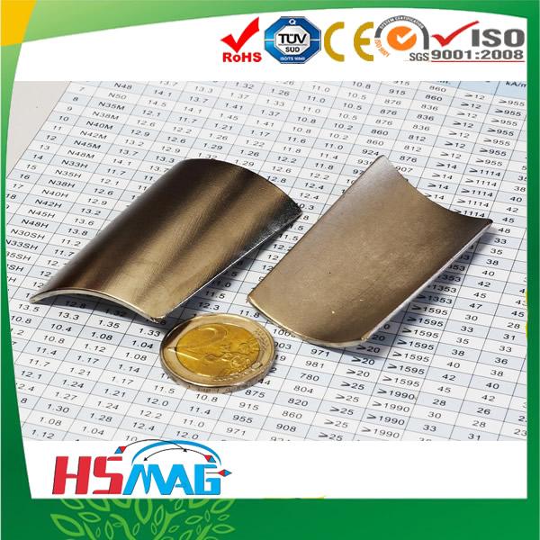Super Strong Segment Magnets N48