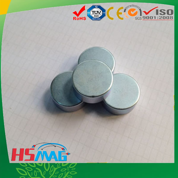 N42 Powerful Disc Magnets with Zinc Plated