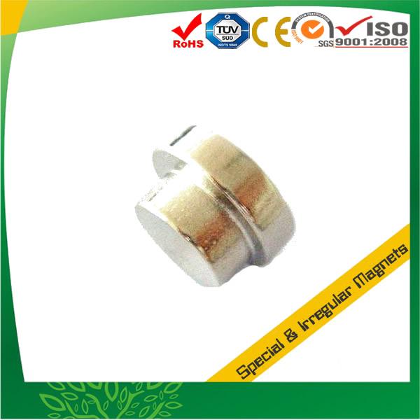 Round shape Stepped Neodymium Magnet